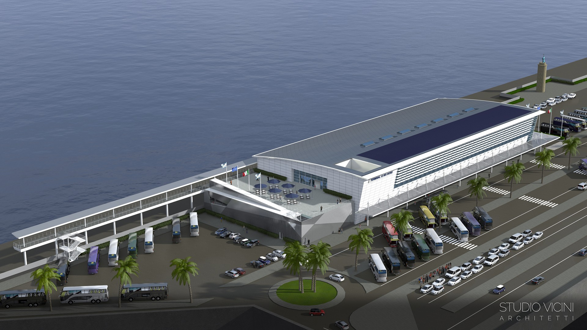 Studio vicini civitavecchia terminal autorit portauale - Port of civitavecchia cruise terminal ...